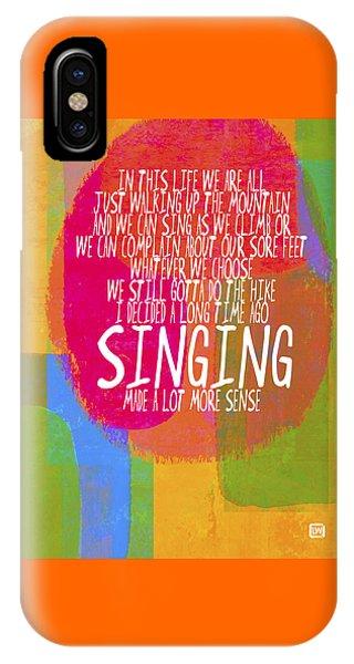 Singing IPhone Case