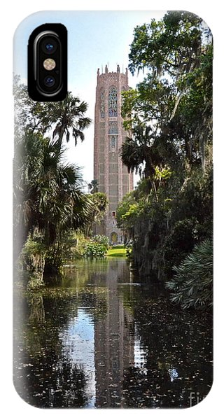 Singing Tower Reflection IPhone Case