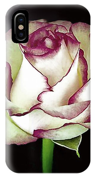 Single Beautiful Rose IPhone Case
