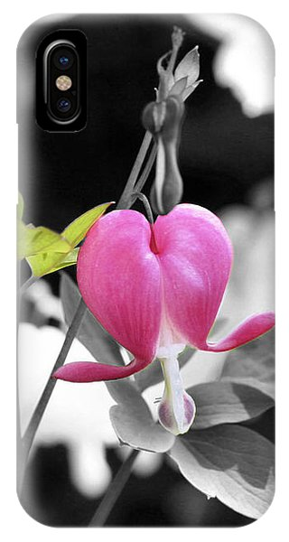 Single Bleeding Heart Partial IPhone Case