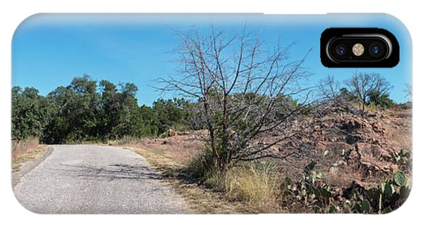 Single Lane Road In The Hill Country IPhone Case