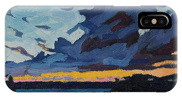 Singleton Sunset Stratocumulus IPhone Case