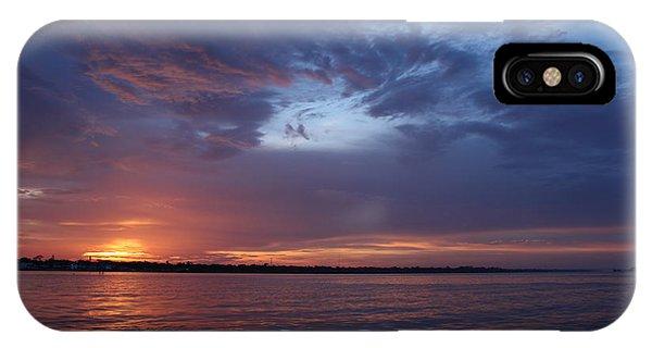 Sinking Sun IPhone Case