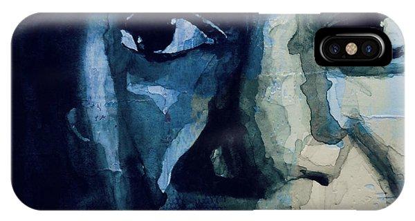 Rhythm And Blues iPhone X / XS Case - Sinnerman - Nina Simone by Paul Lovering