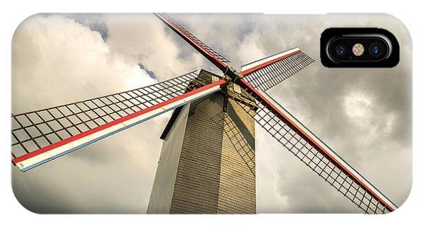 Sint Janshuismolen Windmill 2 IPhone Case