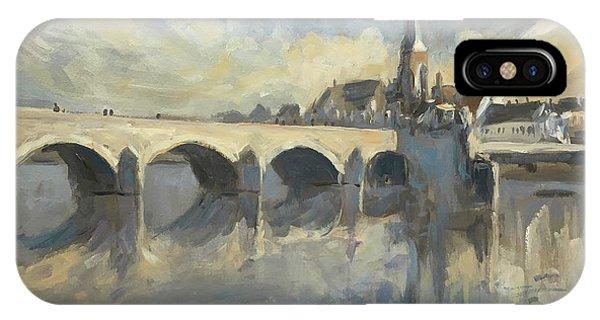 Sint Servaas Bridge Maastricht IPhone Case
