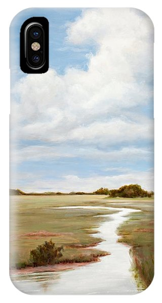 Sinuous Marsh IPhone Case