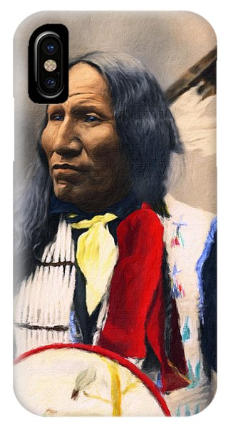 Sioux Chief Portrait IPhone Case