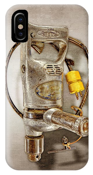 Craftsman iPhone Case - Sioux Drill Motor 1/2 Inch by YoPedro