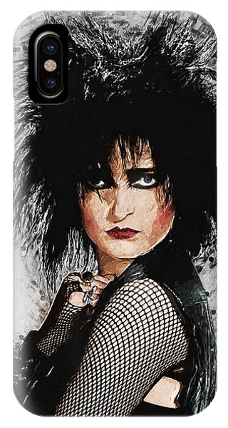Robert Smith Music iPhone Case - Siouxsie Sioux by Zapista