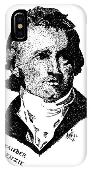 Sir Alexander Mackenzie IPhone Case
