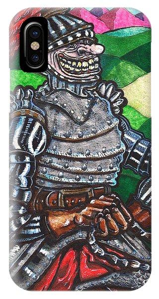 Sir Bols The Black Knight IPhone Case