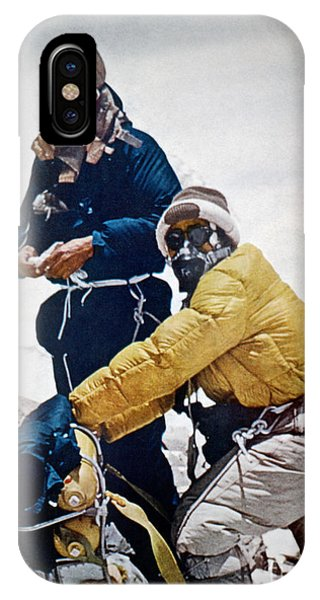 Sir Edmund Hillary IPhone Case