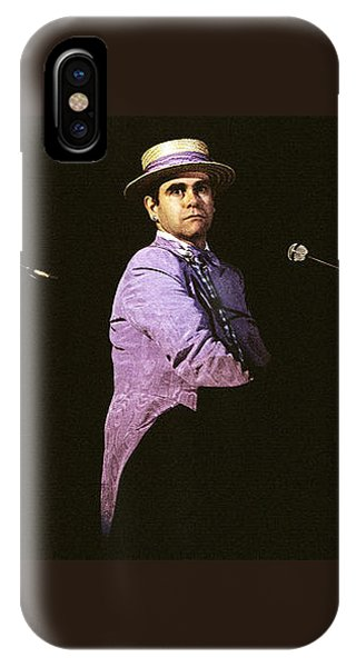 Sir Elton John 3 IPhone Case