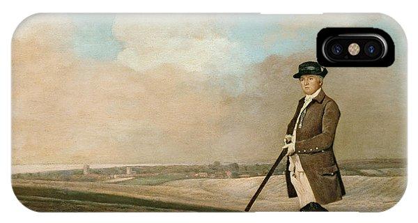 Sir John Nelthorpe IPhone Case