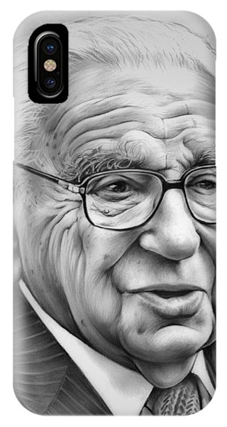 1 iPhone Case - Sir Nicholas Winton by Greg Joens