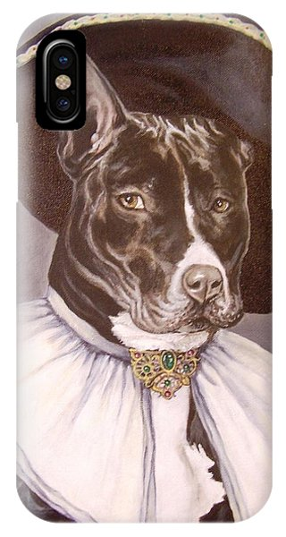 Sir Pibbles IPhone Case