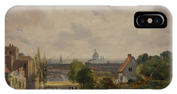 English Village iPhone Case - Sir Richard Steele's Cottage by John Constable