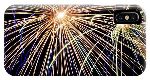Sister Bay Fireworks IPhone Case
