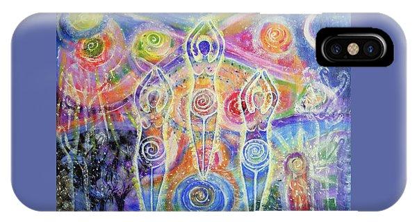 Goddess iPhone Case - Sisterhood Of The Divine Feminine by Lila Violet