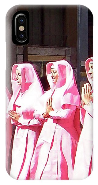 Sisters In Pink IPhone Case
