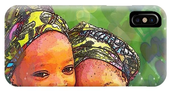 Sisters Love IPhone Case