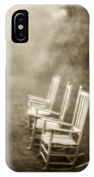 Sit A Spell-sepia IPhone Case