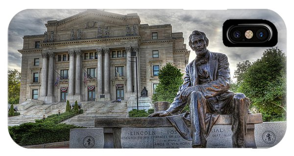 Sit With Me - Seated Lincoln Memorial By Gutzon Borglum  IPhone Case