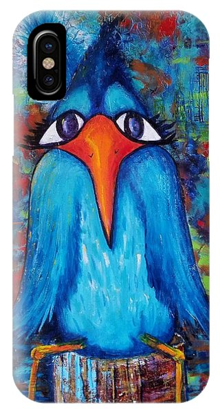 IPhone Case featuring the painting Sittin' At The Dock Of The Bay by Vickie Scarlett-Fisher