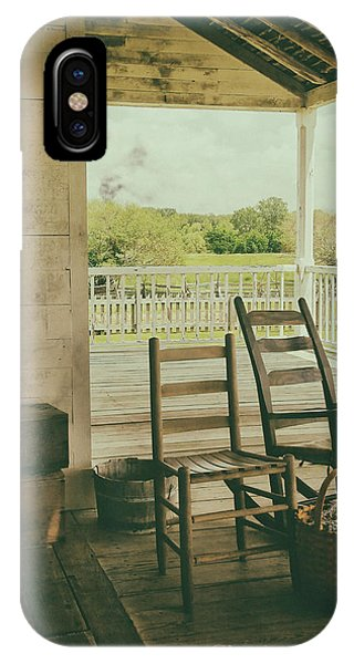 Sittin Place IPhone Case