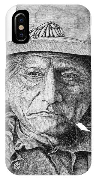 Sitting Bull IPhone Case