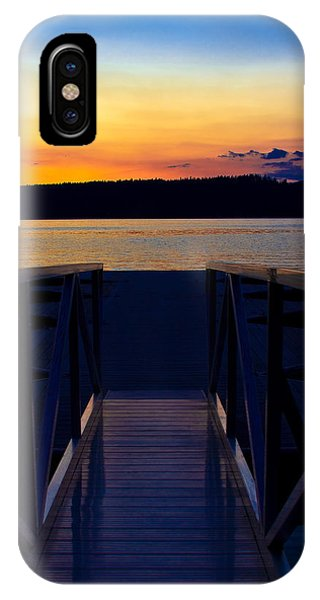 Sitting On The Dock Of A Bay IPhone Case
