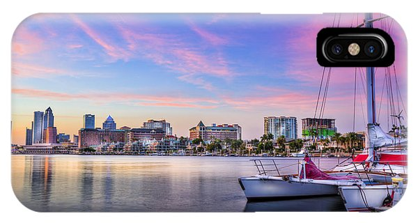 Catamaran iPhone Case - Sitting On The Dock Of The Bay by Marvin Spates