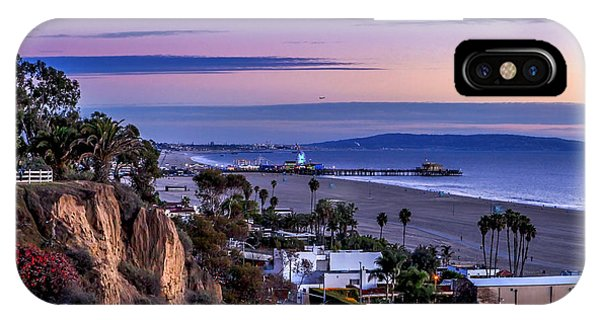 Sitting On The Fence - Santa Monica Pier IPhone Case