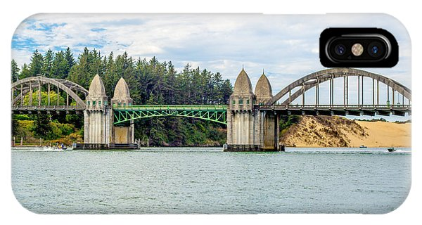 Siuslaw River Draw Bridge  IPhone Case