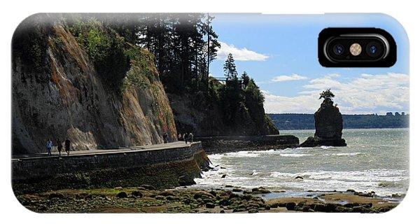 Siwash Rock Stanley Park Vancouver Phone Case by Pierre Leclerc Photography