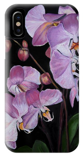 Six Orchids IPhone Case