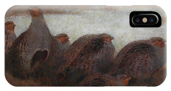 Six Partridges IPhone Case