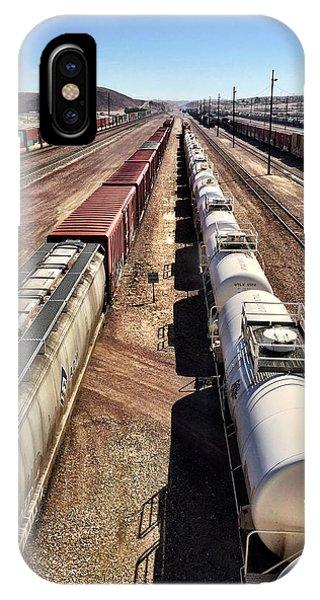 Six Trains IPhone Case