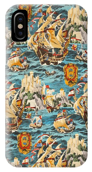 Sixteenth Century Ships IPhone Case