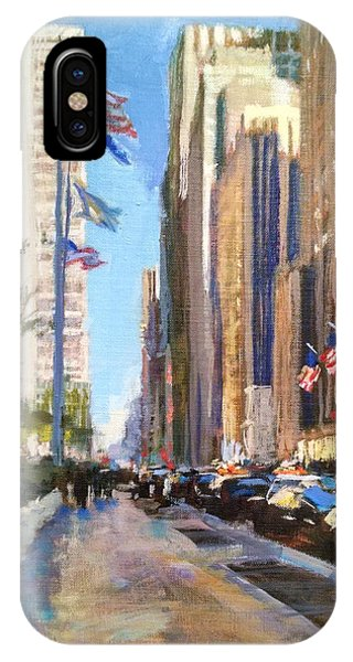 Sixth Avenue Flags IPhone Case