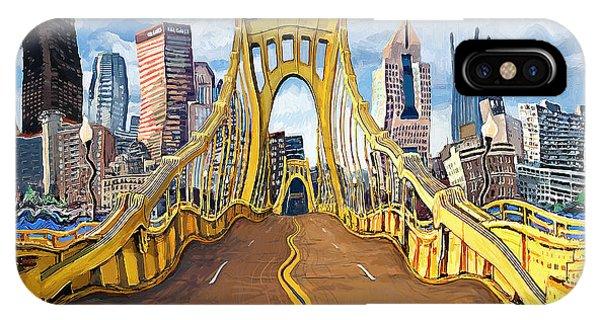 Sixth Street Bridge, Pittsburgh IPhone Case