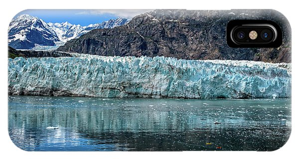 Size Perspective No Margerie Glacier IPhone Case