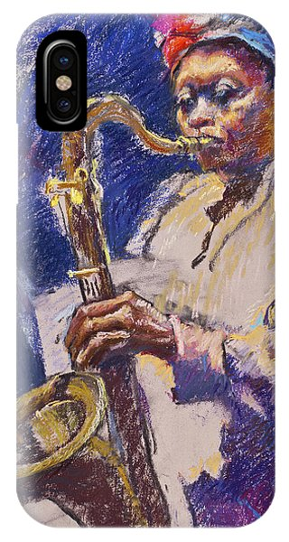 Sizzlin' Sax IPhone Case