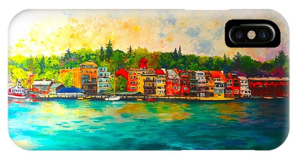 Skaneateles IPhone Case