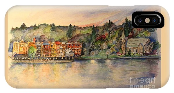 Skaneateles Ny IPhone Case