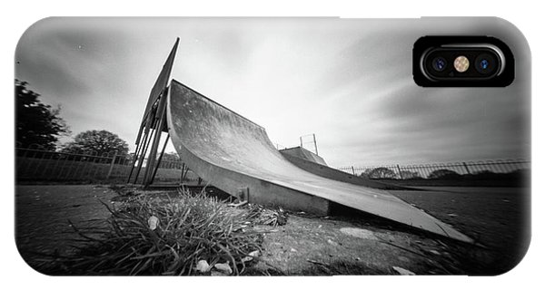 IPhone Case featuring the photograph Skate Ramp Pinhole Photo  by Will Gudgeon