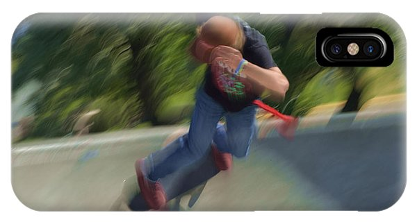 Skateboard Action IPhone Case
