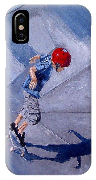 Skateboarding IPhone Case