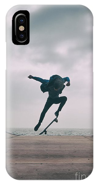 Skater Boy 004 IPhone Case